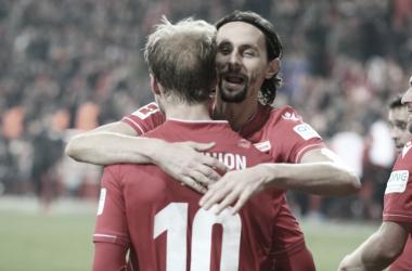 Union Berlin le pegó al líder Borussia Mönchengladbach