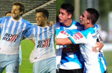 Unión y Juventud respectivamente. (Imagen web oficial Futbol Para Todos)