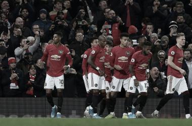 El Manchester United vence al Tottenham./ Foto: Premier League