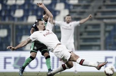 El AC Milan gana con un doblete de Ibrahimovic