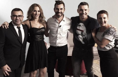 Santi Millán junto con el jurado de 'Got Talent España' (Foto: Mediaset)