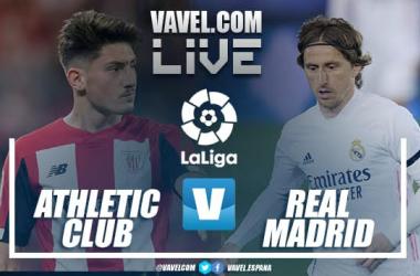 Resumen de Athletic Club vs Real Madrid en LaLiga Santander (0-1)