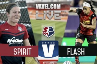 Score Washington Spirit vs Western New York Flash in 2016 NWSL Championship (2-2)