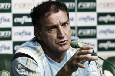 """Cuca fala sobre arbitragem """"Qual erro foi pior? O meu ou o dele?"""" Foto. Divulgação/Palmeiras"""