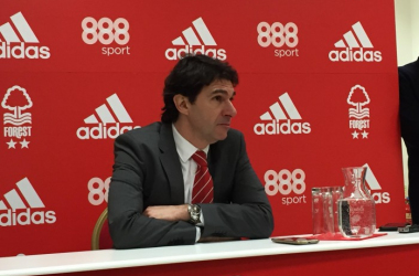 Karanka cut a disgruntled figure in the post-match press conference (photo: Vavel / Chris Lincoln)