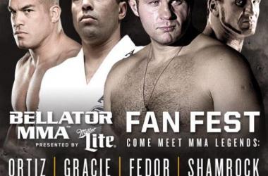Ortiz, Shamrock, Fedor, and Gracie all at Fan Fest / Bellator MMA