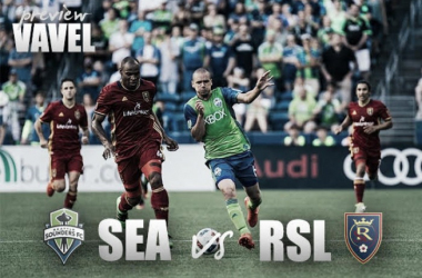 Real Salt Lake and Seattle Sounders prepare to face off on Sunday, October 23, 2016, at CenturyLink Field.