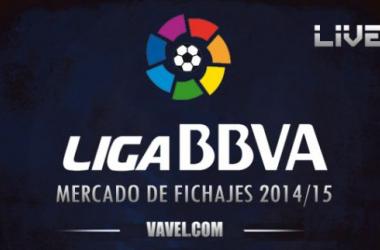 Resultado mercado de fichajes en la Liga BBVA 2014/2015