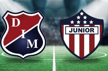 Atlético Junior será el rival del DIM en la sexta fecha de la Liga Águila I