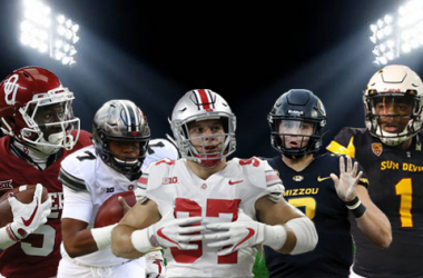 "<div style=""text-align: start;"">Marquise Brown, Dwayne Haskins, Nick Bosa, Drew Lock & N'Keal Harry</div>"