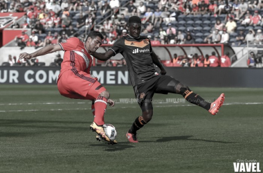 Images and photos of Chicago Fire's 1-0 victory over the Houston Dynamo