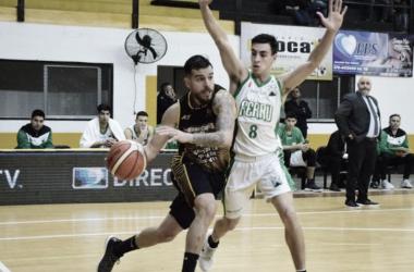 Selem Safar penetra ante la marca de Orresta. Fuente: Radio Dos.
