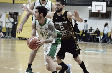 Lucho Massarelli fue una pesadilla para Luis Cequeira y toda la defensa aurinegra. Fuente: unocontraunoweb.com