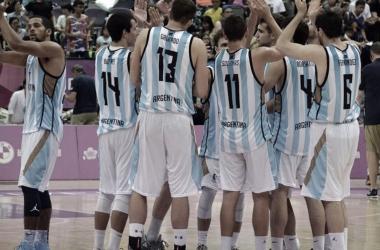 La Selección Argentina masculina durante su última participación en el certamen en 2017. Fuente: infoeme.com.