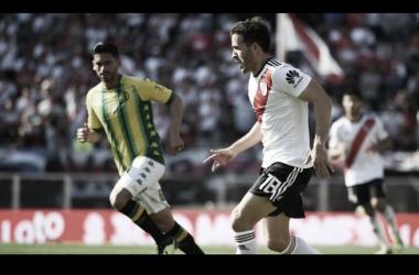 Camilo Mayada en la victoria ante el mismo rival por Superliga el 27 de noviembre pasado. Fuente: La Página Millonaria