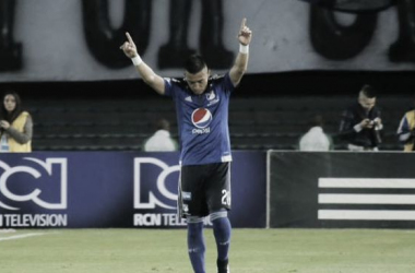 Con 13 goles, Uribe es el actual goleador de la Liga Águila