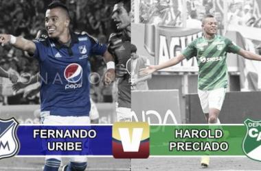 Fernando Uribe vs Harold Preciado: La lucha por el botín de goleador.