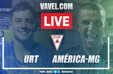 Gols e melhores momentos de URT 0 x 5 América-MG pelo Campeonato Mineiro 2021