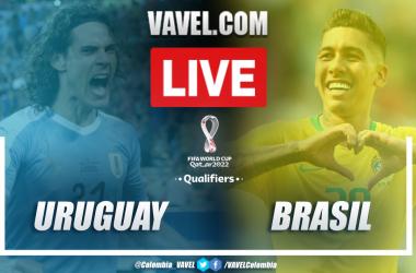 Resumen y golesUruguay vs Brasil (0-2)