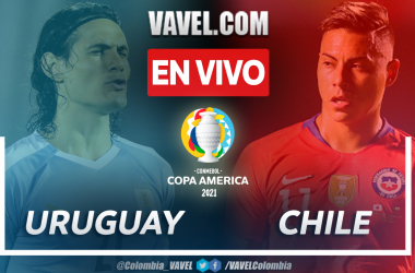 Uruguay vs Chile (1-1) en fase de grupos por Copa América 2021