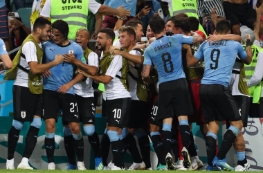 Uruguay, garra e Cavani: Celeste ai quarti | www.twitter.com (@Uruguay)