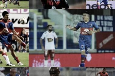 Cáceres,, Ribair, Pintos, Goñi, Piriz, Japo, Ferreira, Choy (Fotomontaje).