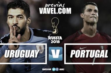 Suárez y Ronaldo ofrecen un duelo interesante de goleadores. Foto montaje Vavel
