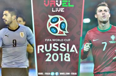 Uruguay - Portogallo, LIVE ottavi di finale Mondiali Russia 2018 (2-1): Cavani fa sognare la Celeste