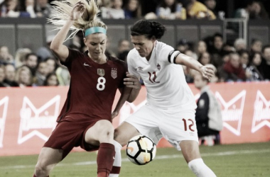 The USWNT and Canada will lock horns once again in World Cup qualifiers | Source: goal.com