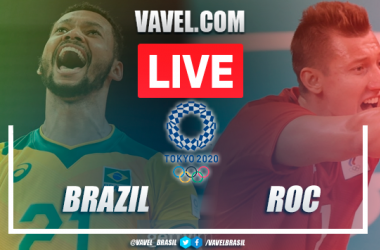 Highlights: Brazil 0-3 Russia men's volleyball Olympic Games Tokyo 2020