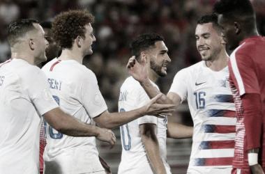 Estados Unidos ganador del grupo A   Fotografía: U.S.Soccer