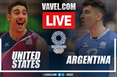 Highlights: USA 0-3 Argentina in Voleyball at the Olympic Games 2020