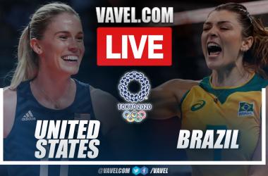 Highlights: Brazil 0-3 USA in Women's Volleyball Final Match at Tokyo 2020