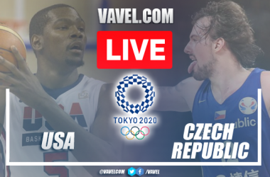 Highlights and Best Moments: USA 119-84 Czech Republic in Tokyo 2020