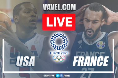 Highlights and Best Moments: USA 76-83 France in Basketball 2020 Olympic Games