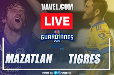Goals and Highlights: Mazatlán 1-1 Tigres, 2020 Liga MX
