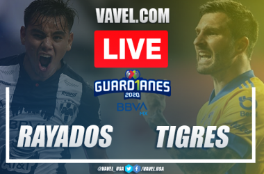 Goals and Highlights: Monterrey0-2 Tigres, 2020 Liga MX
