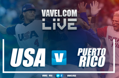 Score USA 5-6 Puerto Rico in World Baseball Classic 2017