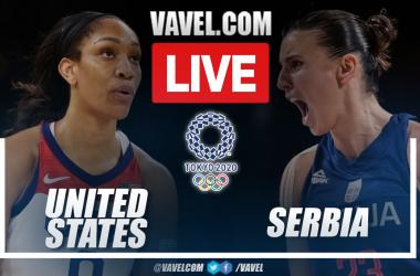 Highlights: USA 79-59 Serbia in Basketball semiinal match at Tokyo 2020