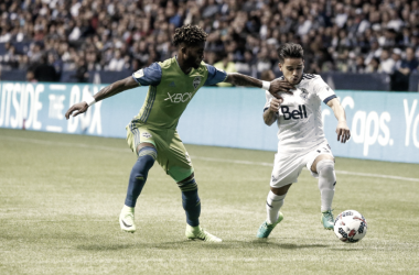 This will be the first playoff match between the two Cascadia rivals. | Photo: Joe Nicholson-USA TODAY Sports