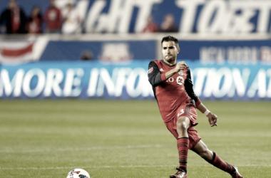 Steven Beitashour while with Toronto FC. | Photo: Noah K. Murray-USA TODAY Sports