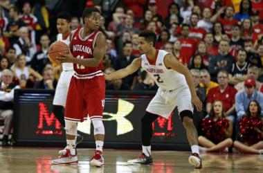 Result Maryland Terrapins 62-80 Indiana Hoosiers in NCAA College Basketball 2016