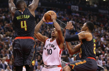 Atlanta Hawks Fall To Toronto Raptors 104-96