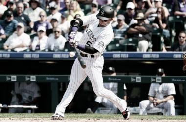 González ha mejorado su poderío ofensivo en lo que va de campaña / Foto: MLB