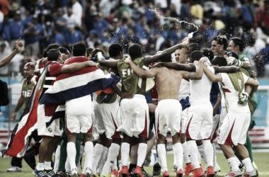 Celebração da Costa Rica (Foto: USA Today Sports)