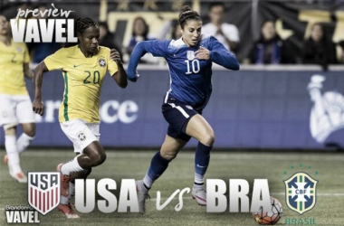 USA vs Brazil Tournament of Nations preview: USA must earn results