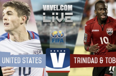 Result and Goals USA 2- 0 Trinidad and Tobago in 2018 CONCACAF World Cup Qualifying