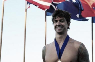 Anthony Ervin nadó los 50m libres y dos relevos en Barcelona (Foto: Usatoday.com).