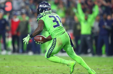 Seattle Seahawks safety Kam Chancellor (31) against the Arizona Cardinals at University of Phoenix Stadium. |Mark J. Rebilas-USA TODAY Sports|