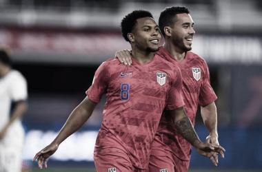 Weston Mckennie anotó el triplete más rápido de la historia con los Estados Unidos | Fotografía: U.S. Soccer